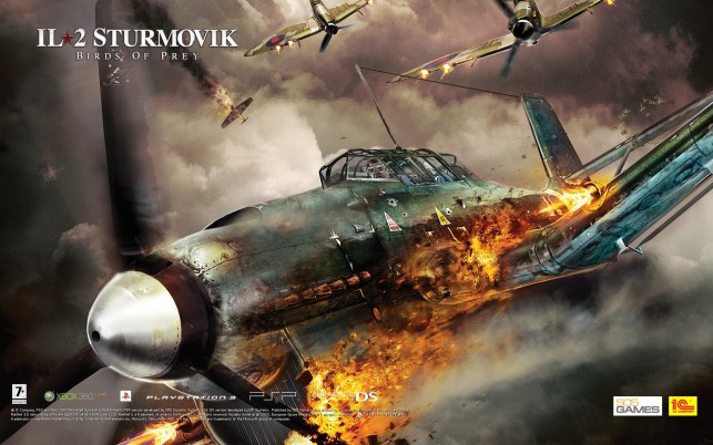 Il 2 Sturmovik Birds Of Prey wallpapers and stock photos