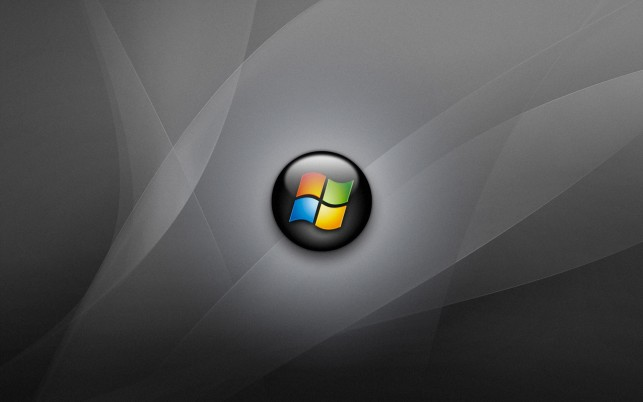 Windows Vista Logo Black, fotos, invierno. wallpapers and stock photos