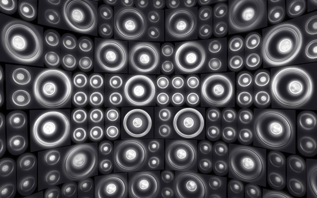 Wall of speakers, music wallpapers and stock photos
