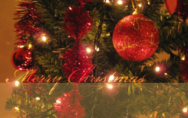 Merry Christmas Tree wallpapers and stock photos