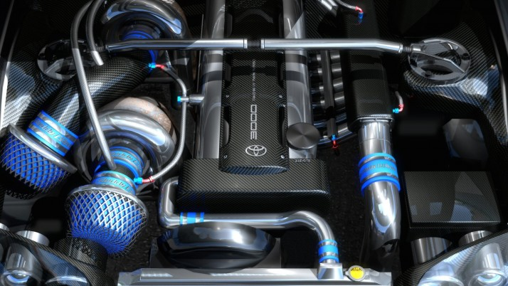 Supra Engine,  toyota wallpapers and stock photos