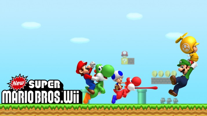 Mario Bros Wii, nintendo, super wallpapers and stock photos