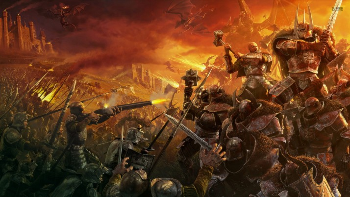 Warhammer: Mark of Chaos, game, games wallpapers and stock photos