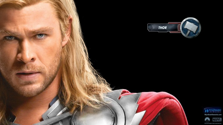 Thor Avengers, actor wallpapers and stock photos