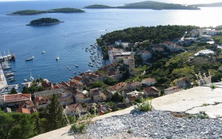 Hvar-Adriatic Sea wallpapers and stock photos