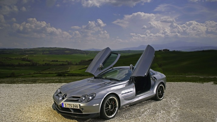 Mercedes Benz SLR Mclaren 722 Edition, Supersportwagen wallpapers and stock photos