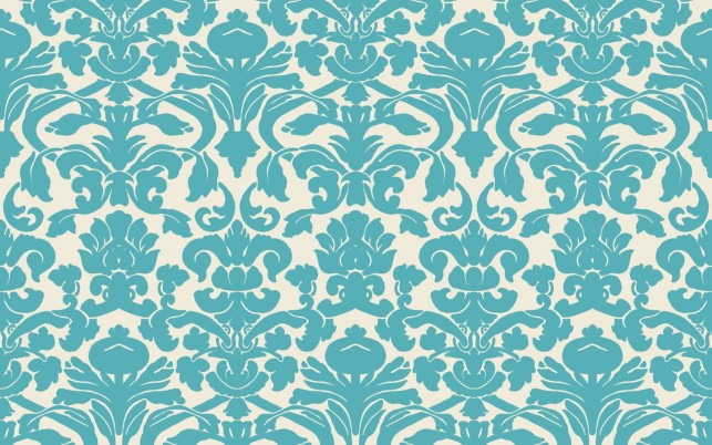 Blue Damask wallpapers and stock photos
