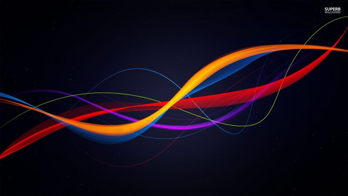 Colorful curves, abstract wallpapers and stock photos