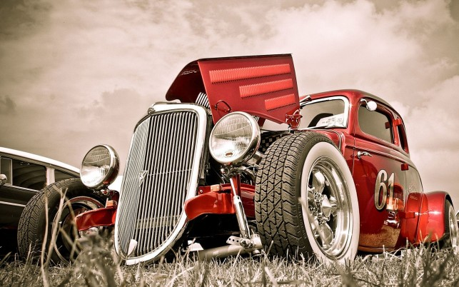 Hot Rod, car,  bikes, cars wallpapers and stock photos
