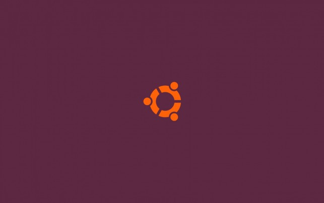 Ubuntu, simple, logos, purple wallpapers and stock photos