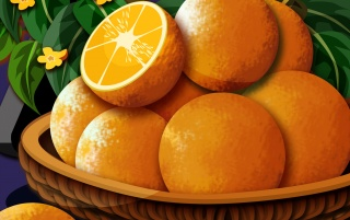Orange Delite wallpapers and stock photos