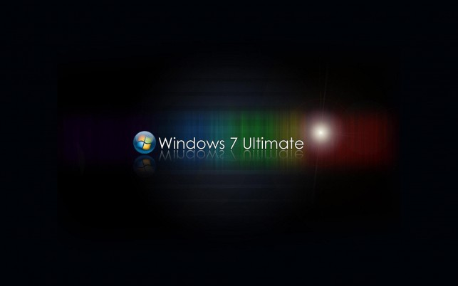 Windows 7 Ultimate, siete wallpapers and stock photos