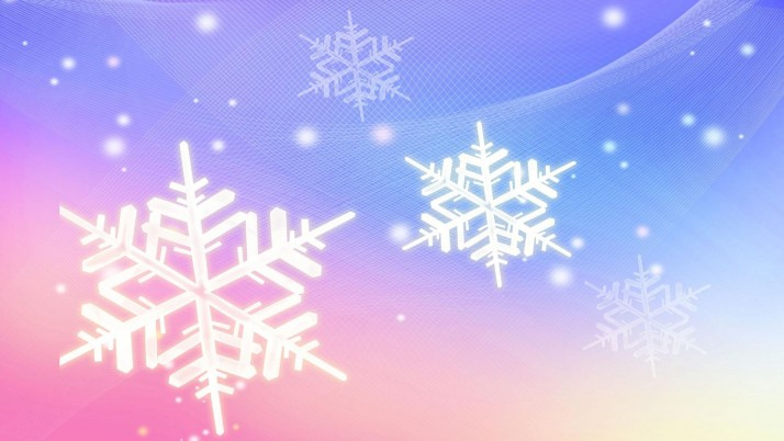 Snowflakes, artistic wallpapers and stock photos
