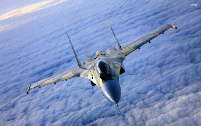 Sukhoi Su-27, aircraft wallpapers and stock photos