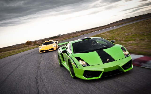 Lamborghini Green, windows, theme, car, nice wallpapers and stock photos