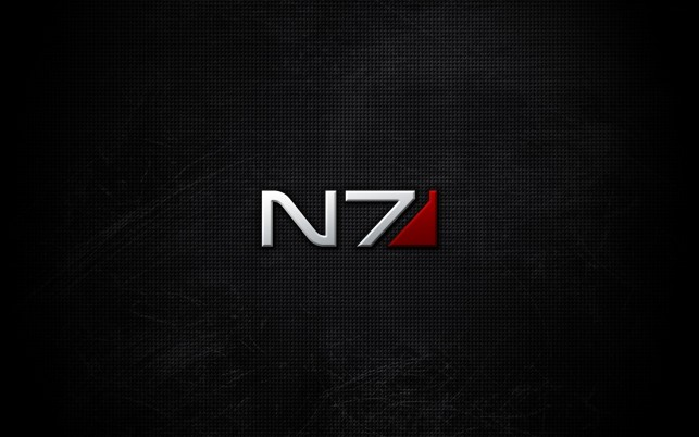 Mass Effect N7 wallpapers and stock photos