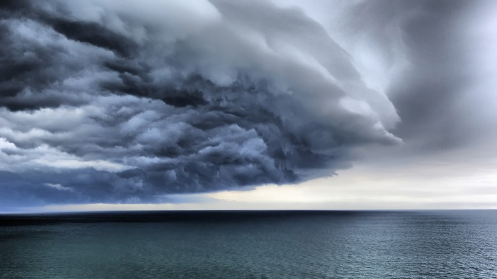 Storm over thew sea, cloud, nature wallpapers and stock photos