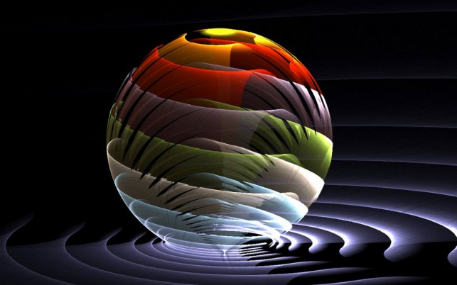 3D  ball wallpapers and stock photos