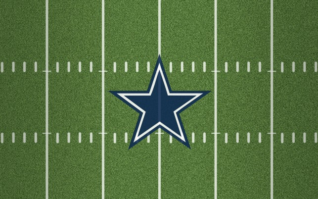 Previous: Dallas Cowboys  star, field, football