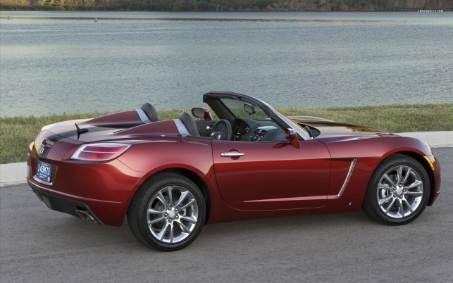 Saturn Sky Red Line Ruby Red Limited Edition 2009, car, cars wallpapers and stock photos