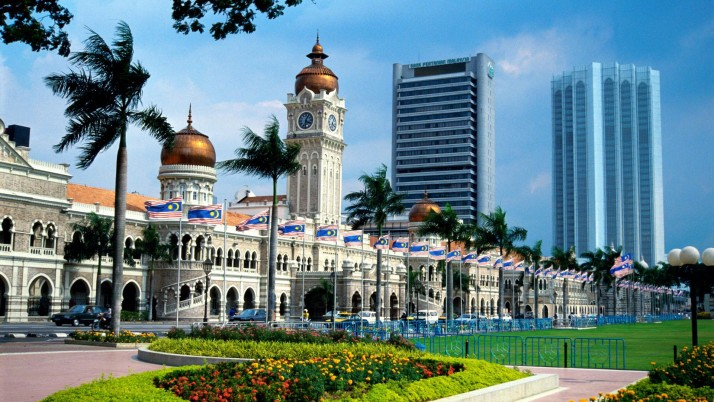 Famous Buildings In Malaysia, sultan, art, vector wallpapers and stock photos