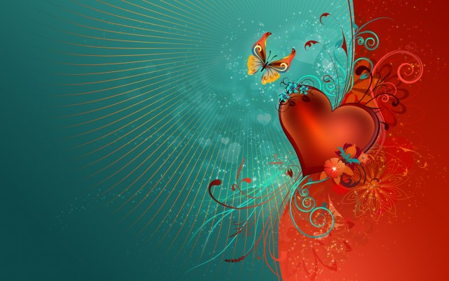 Valentine, heart, artistic wallpapers and stock photos