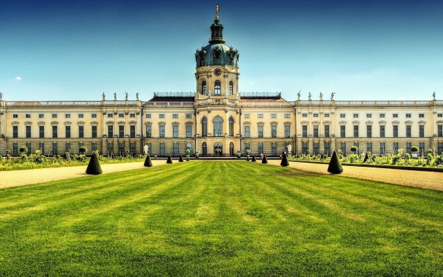 Charlottenburg Palace, cityscapes, castles wallpapers and stock photos