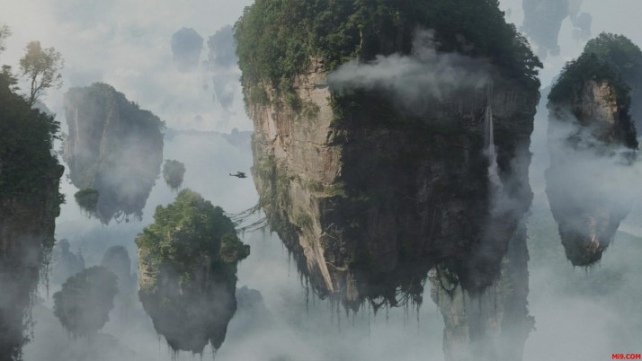 Avatar Mountains, movie, landscape wallpapers and stock photos