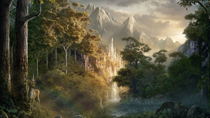 Sarel Theron, fantasy, art, scenery, landscape wallpapers and stock photos