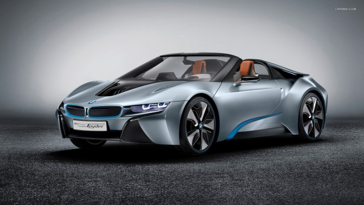 BMW i8 Concept Spyder 2012, car, cars wallpapers and stock photos