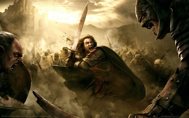 Helms Deep, rings, online wallpapers and stock photos