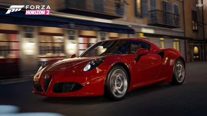 Alfa Romeo 4C, forza, forza motorsport, forza horizon, game, games wallpapers and stock photos