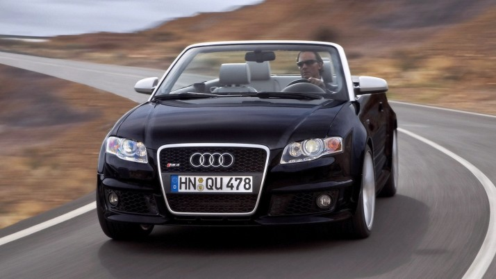 2006 Audi RS 4 convertible, car, cars wallpapers and stock photos