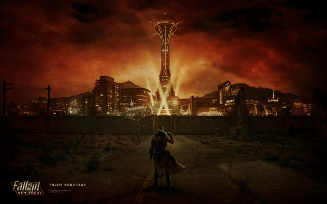 Fallout New Vegas, game wallpapers and stock photos
