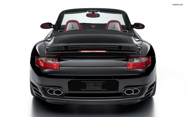 TechArt Porsche 997 Turbo Cabriolet, car, cars wallpapers and stock photos
