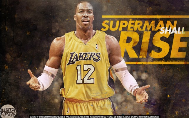 Dwight Howard Lakers, art wallpapers and stock photos