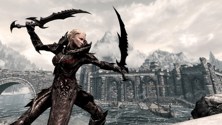 Skyrim Daedric Armor, history wallpapers and stock photos