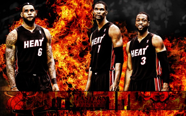 Miami Heat 2012 wallpapers and stock photos
