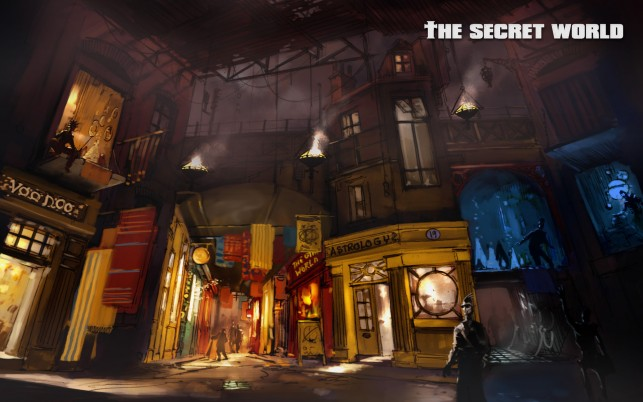 Secret World Artwork wallpapers and stock photos