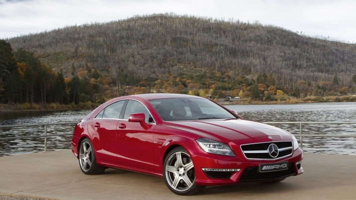 Mercedes Benz Cls 63 Amg wallpapers and stock photos