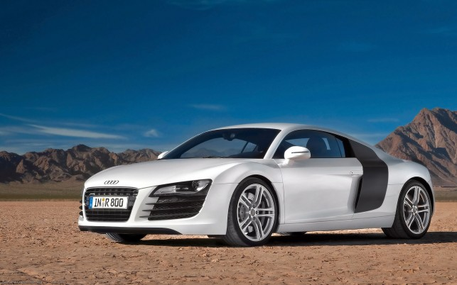 Audi R 8, cars wallpapers and stock photos