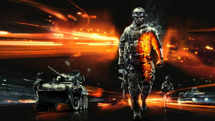 Battlefield 3  anime, solid, metal, music, games, movies wallpapers and stock photos