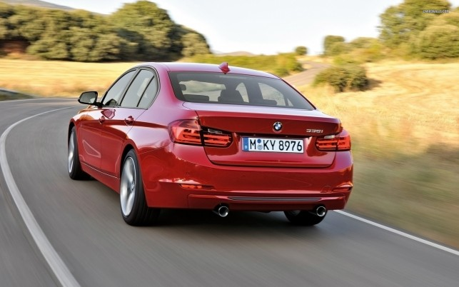 BMW 3 Series Sedan 2012, car, cars wallpapers and stock photos