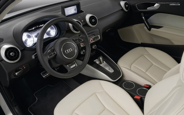 Audi A1 e-tron interior 2010, car, cars wallpapers and stock photos