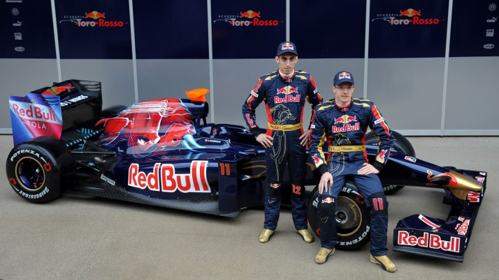 Toro Rosso, start, presentation, launch wallpapers and stock photos