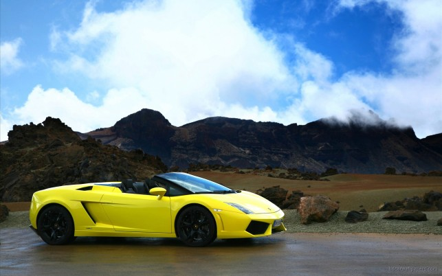 2009 Lamborghini Gallardo LP560 4 Spyder, coches wallpapers and stock photos