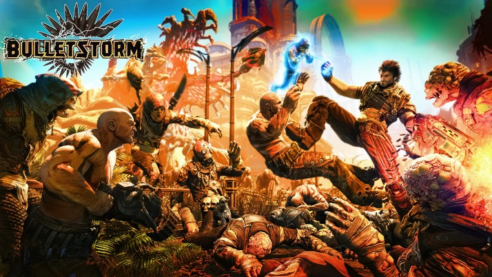 Bulletstorm, official, theme, cover wallpapers and stock photos