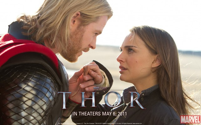 Natalie Portman Thor, Film wallpapers and stock photos