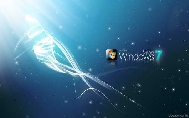 Windows 7 best wallpapers and stock photos