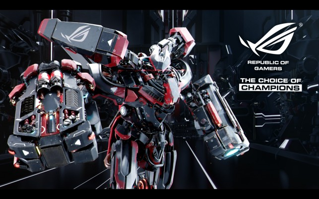 Next: Asus Robot, official